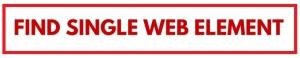 Find single web element