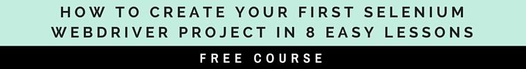 selenium free course
